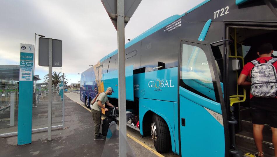 グランカナリア島バス